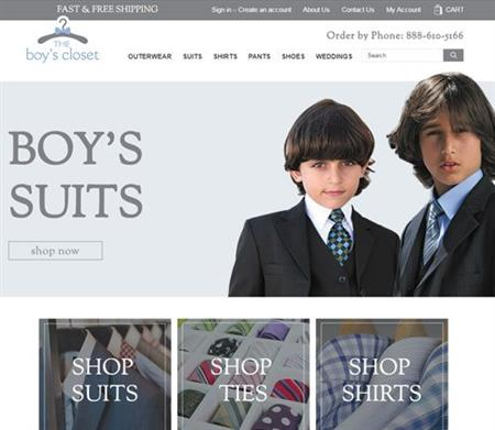 The Boy's Closet